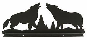 Wolves Wolf Mailbox Topper Decor