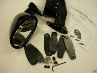 Exterior Rearview Mirrors Rear View Mirrors Street Rod Hot Rods Classic Mirrors