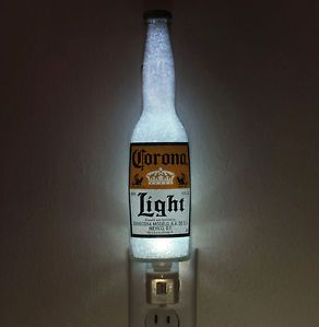 12oz Corona Light Beer Bottle Night Light Lamp Eco LED Bar Man Cave Sign Mexico