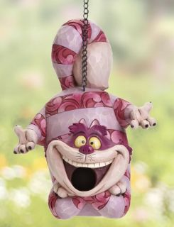 Disney Birdhouse Feeder Alice in Wonderland Cheshire Cat Garden Bird House