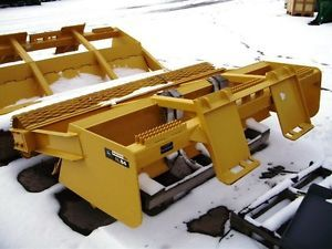 Roller Level Surfacer Packer John Deere Skid Steer and Other Machines Worksite