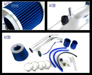 Honda 92 95 Civic SOHC 93 97 Del Sol Cold Air Intake Kit Blue Filter