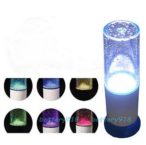 LED Dancing Speaker Water Music Fountain Light for iPad 2 3 4 Mini iPhone 5 5S