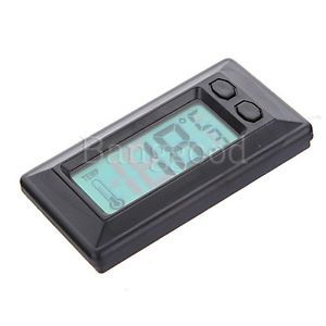 Wall Auto Car Vehicle Indoor Digital LCD Screen Display Temperature Thermometer