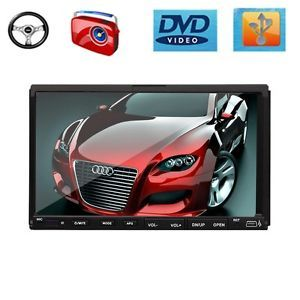 "E6611 7"" Touch Screen 2 DIN Car DVD Player Stereo Audio"