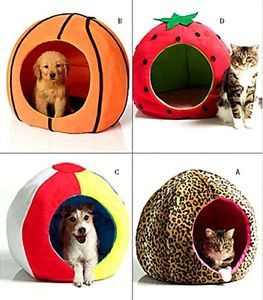 Pet Beds Round Circular Ball Shape Butterick Sewing Pattern 4949 Dog Cat