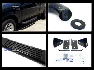 98 11 Ford Ranger Regular Cab 2dr Black SS Side Step Nerf Bar Running Boards