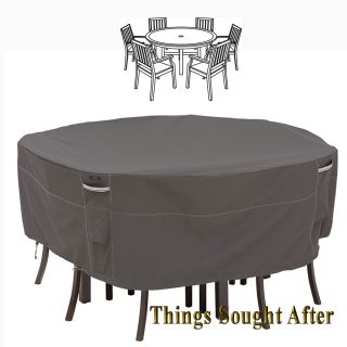 Cover for Medium Round Patio Table Chairs Outdoor Furniture Picnic Ravenna