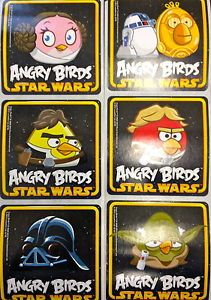 18 Angry Birds Star Wars Stickers Party Favors Teacher Supply