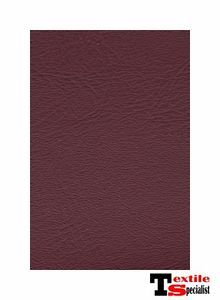 "Burgundy Wine Faux Leather Fabric Vinyl 10YRD Roll 54""x 30Feet Long Upholstery"