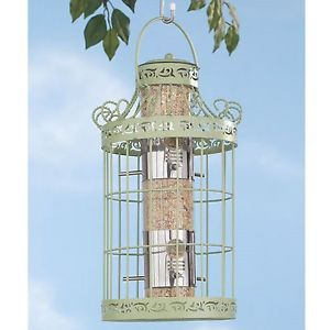 Bird Feeder Metal Cage Squirrel Proof