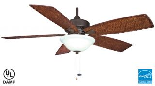Fanimation Cancun Tropical Outdoor Ceiling Fan FP8011OB