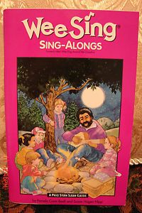 Wee Sing Sing Along 61 Songs RARE Book Paperback $5 Unlimited Media SHIP