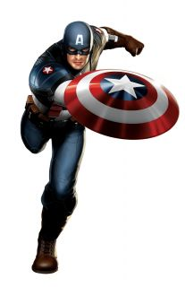 Marvel Avengers Assemble 3D Deco Lights Captain America Shield