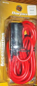 12 Volt Heavy Duty Extension Cord with Outlet New