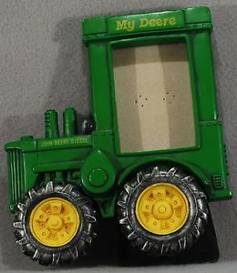 "John Deere Diesel Picture Frame for A 2 5"" x 3"" Picture ""My Deere"""