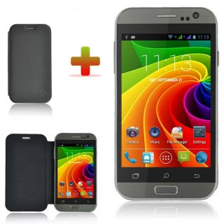 "4"" Touch Unlocked Dual Sim Android 4 2 Smart Mobile Cellphone Dual Core 3G WiFi"
