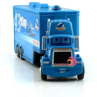 Disney Pixar Cars 43 The King Hauler Dinoco Super Liner Truck Diecast Child Toy