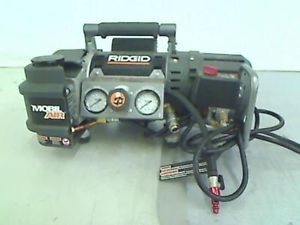 Ridgid Tri Stack 5 Gal Portable Electric Steel Orange Air Compressor Top Only