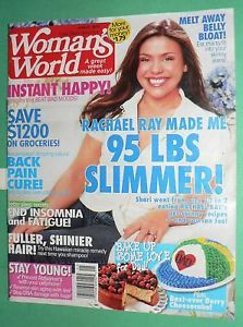 Woman's World Magazine June 21 2010 Rachael Ray Recipe