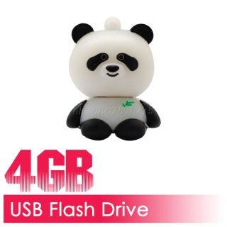 4G 4GB 4 GB 4 G Cute Cartoon Panda USB Flash Memory Stick Drive Pen Panda