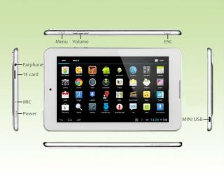 "7"" Fnf Ifive i5 Mini IPS Android 4 1 DualCore 1 6GHz Bluetooth Dual Cam Tablet"