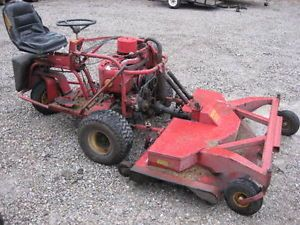 "Old Yazoo YHR18K Zero Turn Riding Lawn Mower w 60"" Deck Great Shape Mows Good"