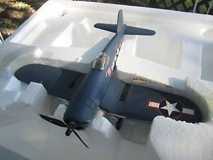 Franklin Mint 1 48 Armour Collection F 4U Corsair VMF 214 US Military Plane Used