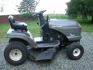 "Craftsman Lawn Tractor Riding Mower 16 0 HP 42"" Mower 6 Speed Transaxle"