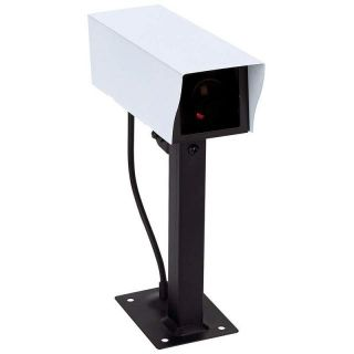 Outdoor Dummy Security Camera Motion Activated Light CCTV Wireless Surveillance