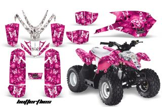 AMR ATV Graphic Decals Kit Polaris Predator Outlaw 50