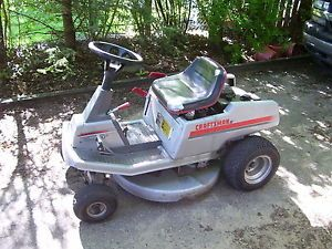 "Craftsman RE2000 10HP 30"" Cutting Deck Elec Start Rear Engine Riding Mower"