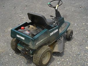 Used Craftsman Rear Engine Riding Mower 30 inch Deck Does not Start