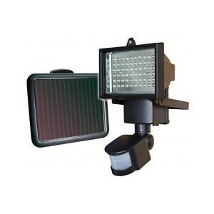 60 LED Solar Powered Sensor Motion Activated Flood Light Outdoor Home Security