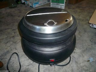 Adcraft Electric Commercial Soup Chili Stew Warmer Kettle Pot Model SK 500W