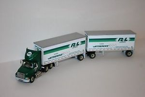 DCP R L Carriers International 9100i w 28' Pups Doubles 1 64 Die Cast Truck