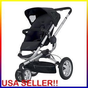 Rocking Black 2012 Quinny Buzz 3 Wheel Jogger Lightweight Baby Stroller CV155RKB