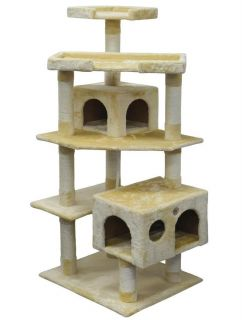 Cat Tree House Toy Bed Scratcher Post Furniture F2020