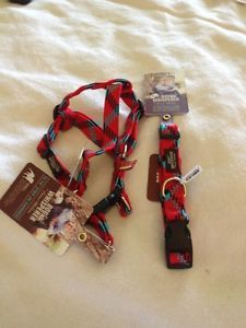 Dog Whisperer with Cesar Millan Step in Harness Collar Small Dog Bold Red
