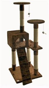 Cat Tree House Toy Bed Scratcher Post Furniture F57