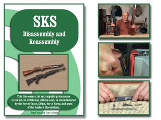 SKS Rifle Carbine Disassembly Assembly on Target DVD All Models New