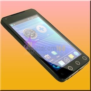 "5 0"" 3G WCDMA Android 4 0 3 Mobile Phone Cell A75 Unlocked GSM WiFi  GPS Game"