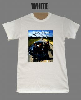 Two Lane Black Top James Taylor Drag Race Movie T Shirt