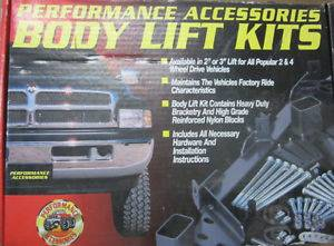 "843 Performance Accessories 3"" Body Lift Kit 1992 1996 Ford Bronco"