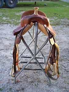 14 Barrel Racing Saddle