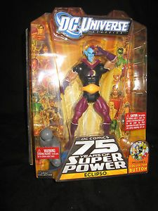 "DC Universe 75 Years of Super Power 6"" Eclipso Action Figure New Unopened"