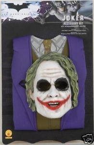 Batman Dark Knight Joker Child Costume Accessory Kit