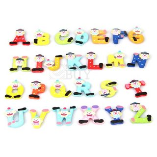 Set Magnetic Fridge Magnet Funky Creative 26 Alphabet Letters Xmas Gift