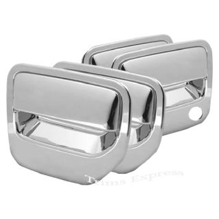 2006 2013 Honda Ridgeline 4 Door Chrome Handle Covers No PSKH