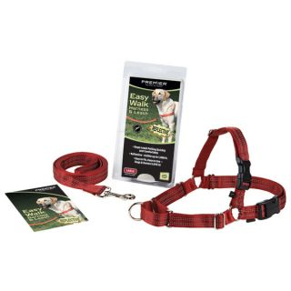 Easy Walk Harness Reflective Dog Leash Set Added Reflective Stitching